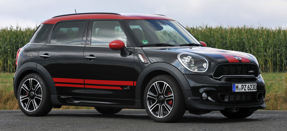 2013 mini john cooper works countryman all4. Black Bedroom Furniture Sets. Home Design Ideas