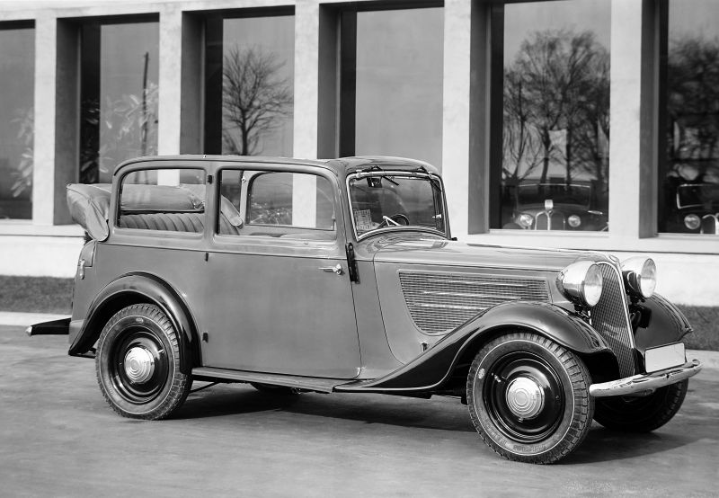 1934 to 1937 BMW 319 models