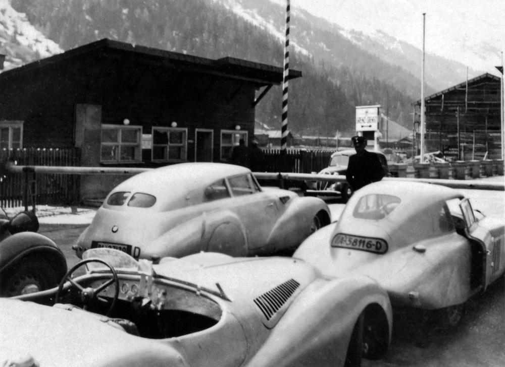 1939-1940 BMW 328 Kamm Coupé