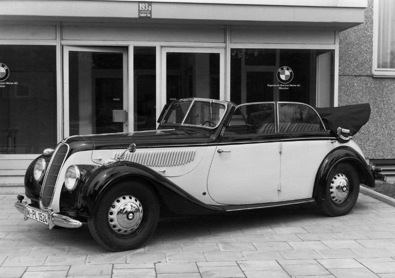 1936 To 1941 Bmw 329 335 Models