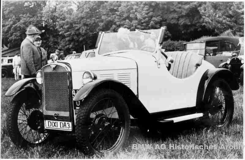 The first serial car of BMW