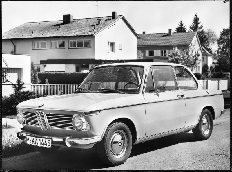 1966-1976 BMW 02 Series Saloon