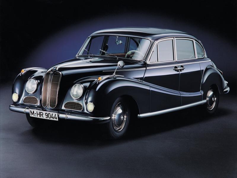 BMW 502 Limousine models (1954-1963)
