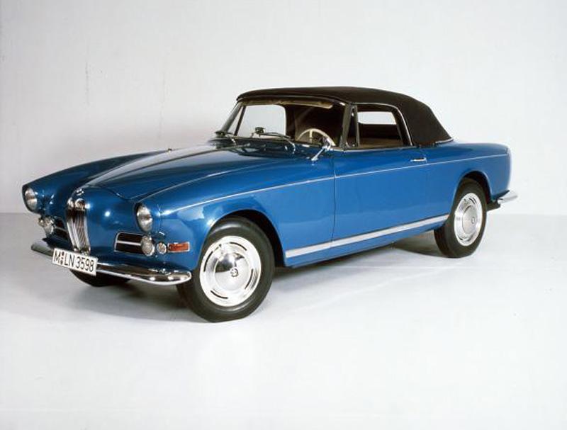 1956-1960 BMW 503 Coupé / Cabriolet models