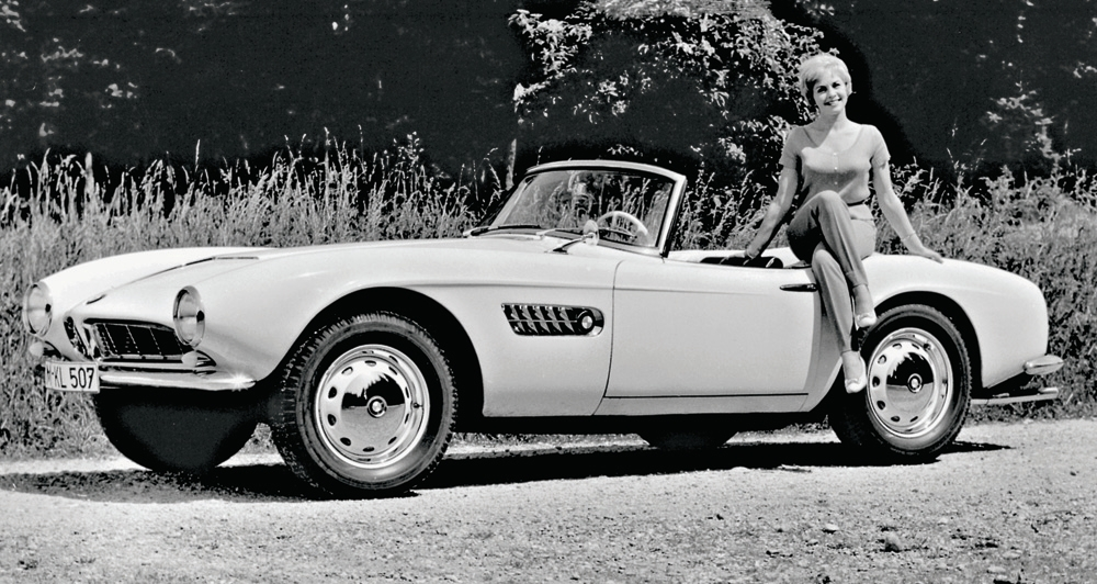 1956 1959 Bmw 507 Roadster