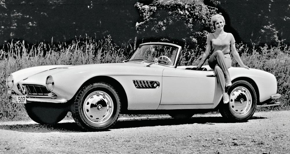 1956 1959 Bmw 507 Roadster