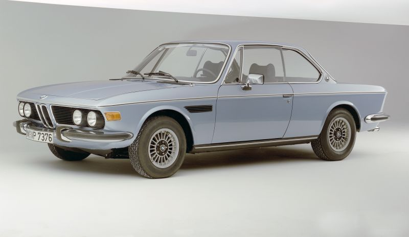 1968 1975 Bmw Large Coup Models