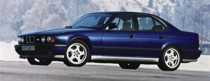 BMW M5 Saloon and Touring (1988-1995)