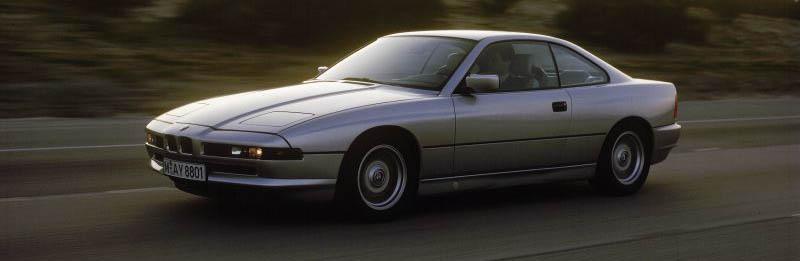 1989-1999 BMW 8 Series Gran Turismo Coupé
