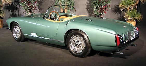 Aston Martin DB MK II Touring Spyder - 1957 aston martin