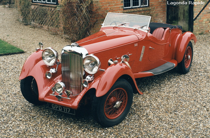 Lagonda Automobiles History from 1906 to 1940
