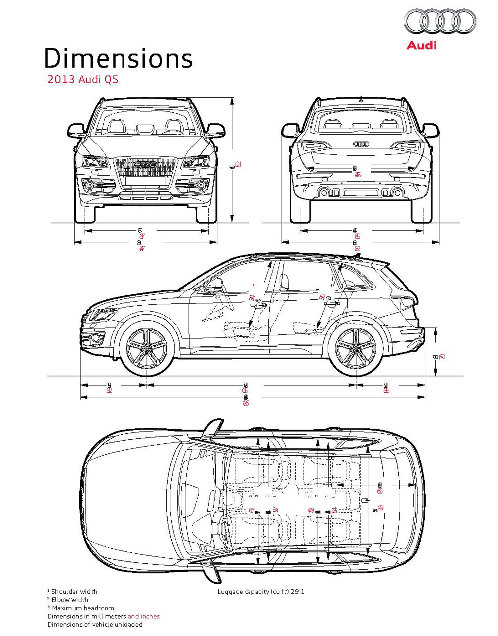 2013 Audi Q5 Engine Diagram The Incorporates Driver Assistance Technologies To Make Driving Experience Easier And More Enjoyable