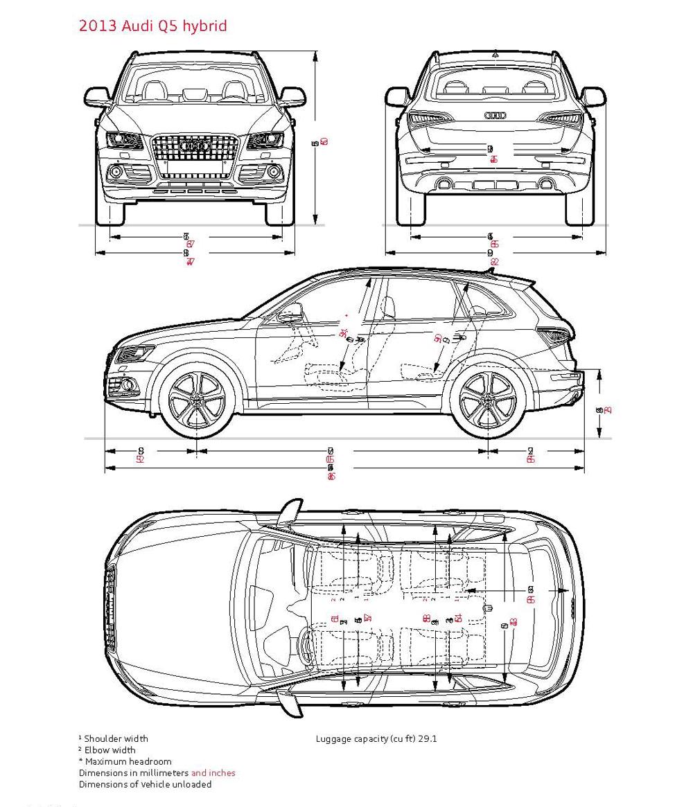 Audi Q5 Cargo Space Dimensions