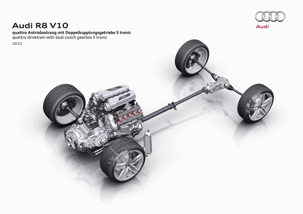 2014 Audi R8 Coupe and Spyder   Audi R8 Engine Diagram      myAutoWorld.com