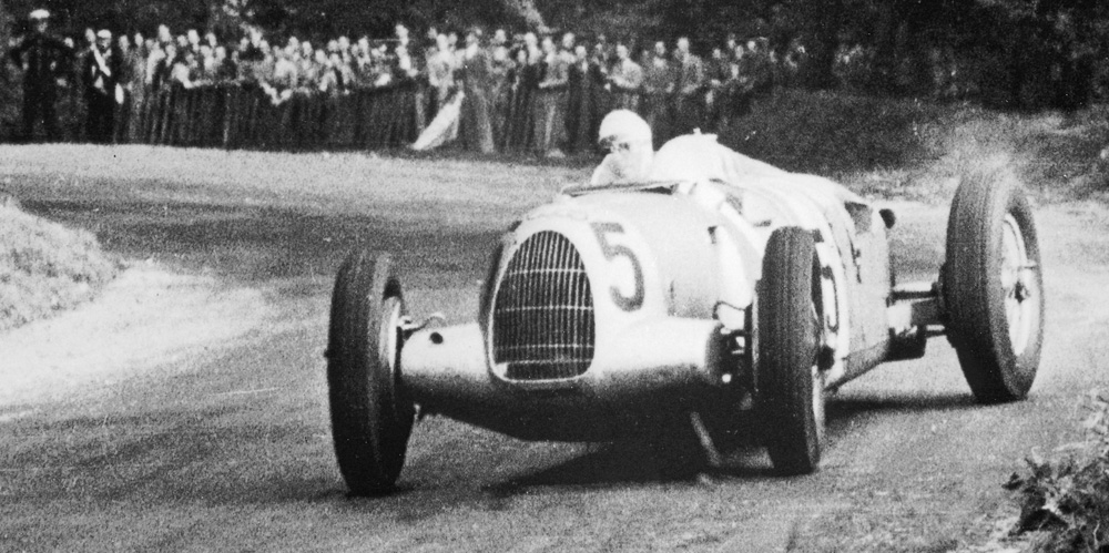 Auto Union Silver Arrow Twin Supercharger Type D Racing Car