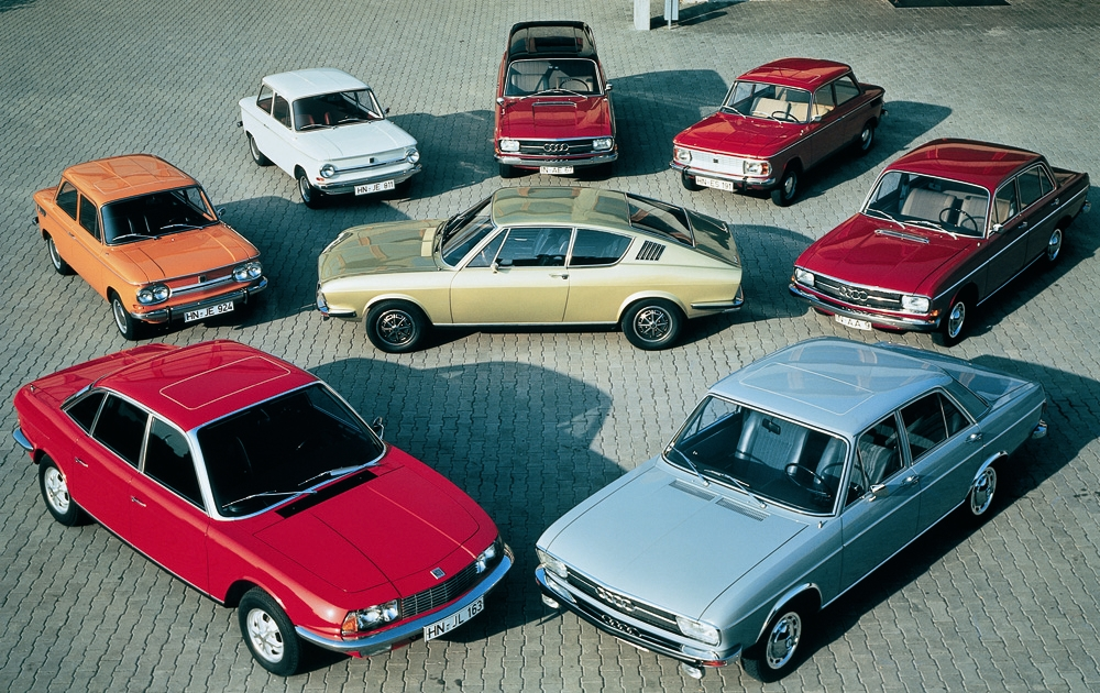 Audi History And Company Founders - Audi various models