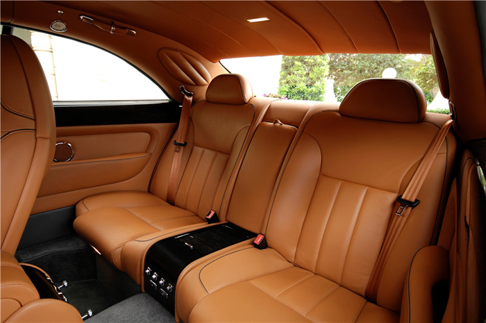 Bentley Brooklands Interior. The Brookland#39;s interior