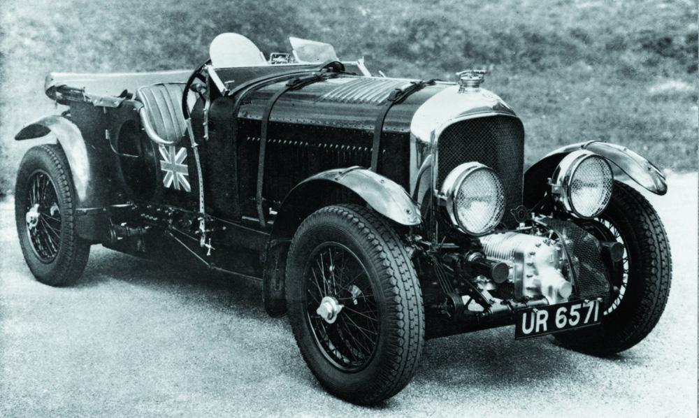 1924 to 1930 Bentley Le Mans 4 ½ litre race cars