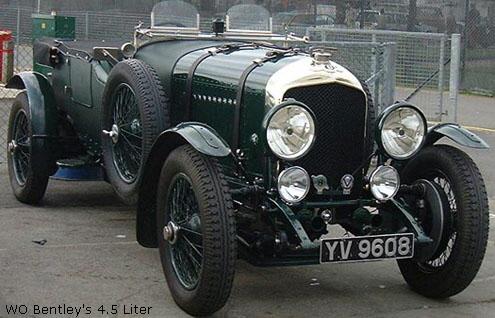 1924 To 1930 Bentley Le Mans 4 189 Litre Race Cars