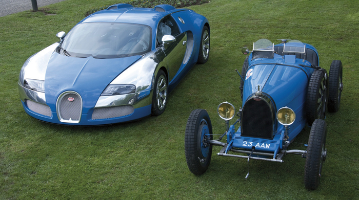 Early bugatti models