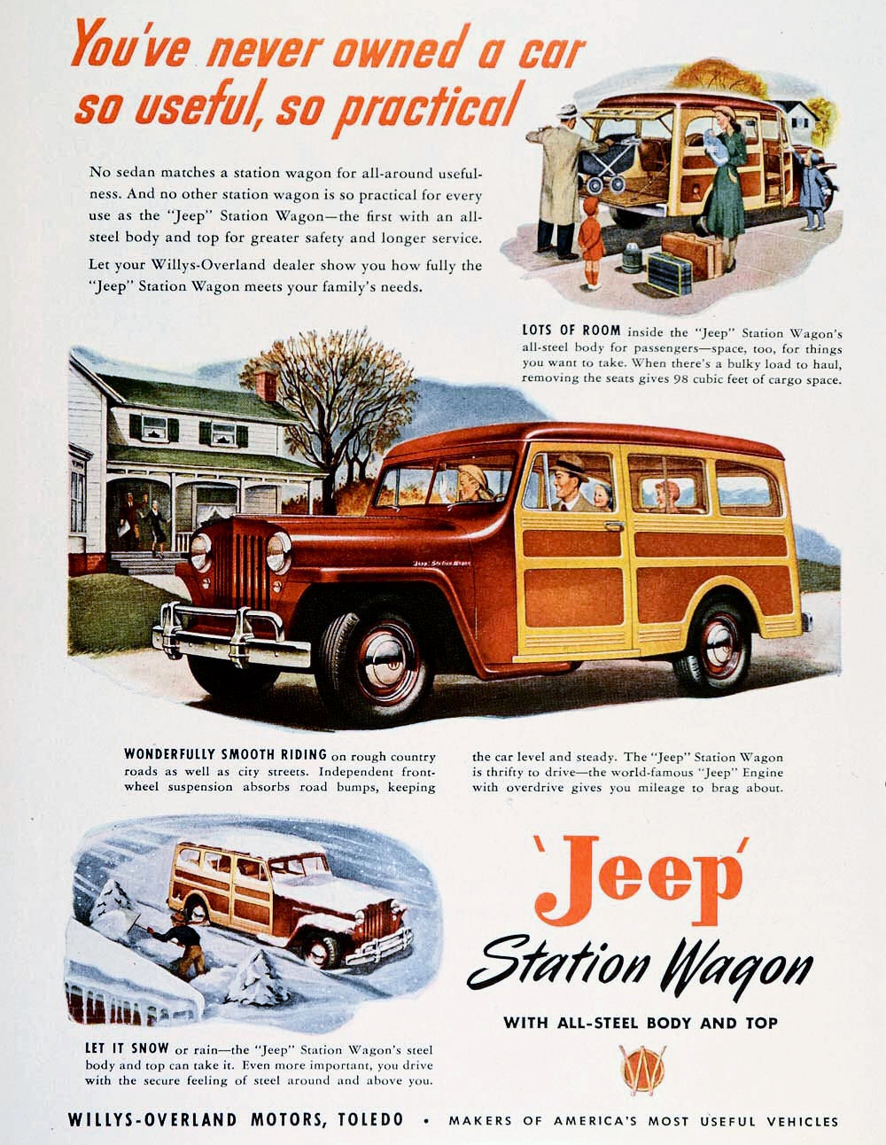 Willys Overland Motor Company History 1941 To 1952 Jeep