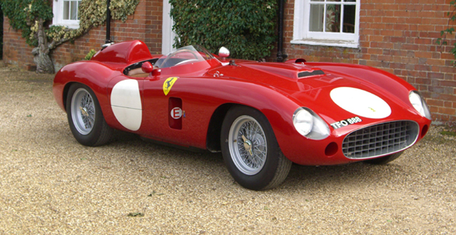Attractive In The Early 1950s, Ferrari Shifted From Using The Compact Gioacchino  Colombo Designed V12 Engine In Its Smallest Class Of Sports Racers To A  Line Of Four ...