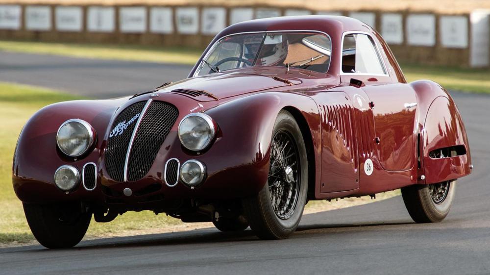 Ar on 1938 Alfa Romeo 8c 2900b