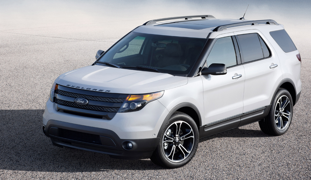 New High Performance Ford Explorer Sport, a Fully Capable SUV