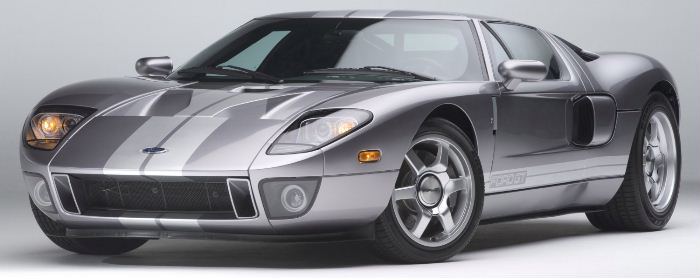 The Original Ford Gt Was A Pure Race Car Built In The Mid S To Take On Ferrari In The Dem And Ing  Hour Race At Le Mans