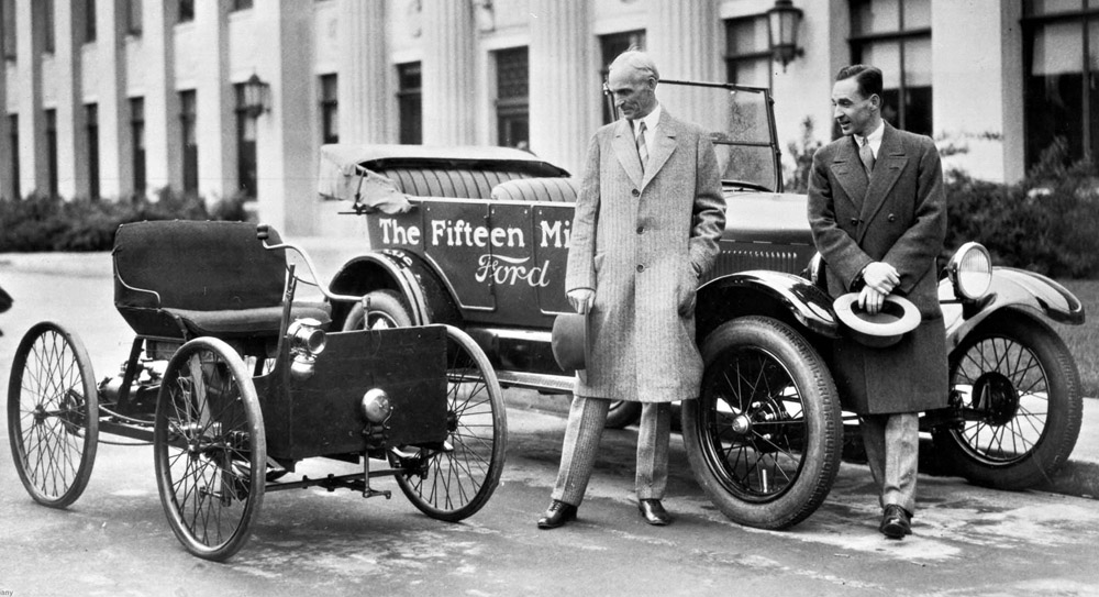 Image result for henry ford tests his quadricycle