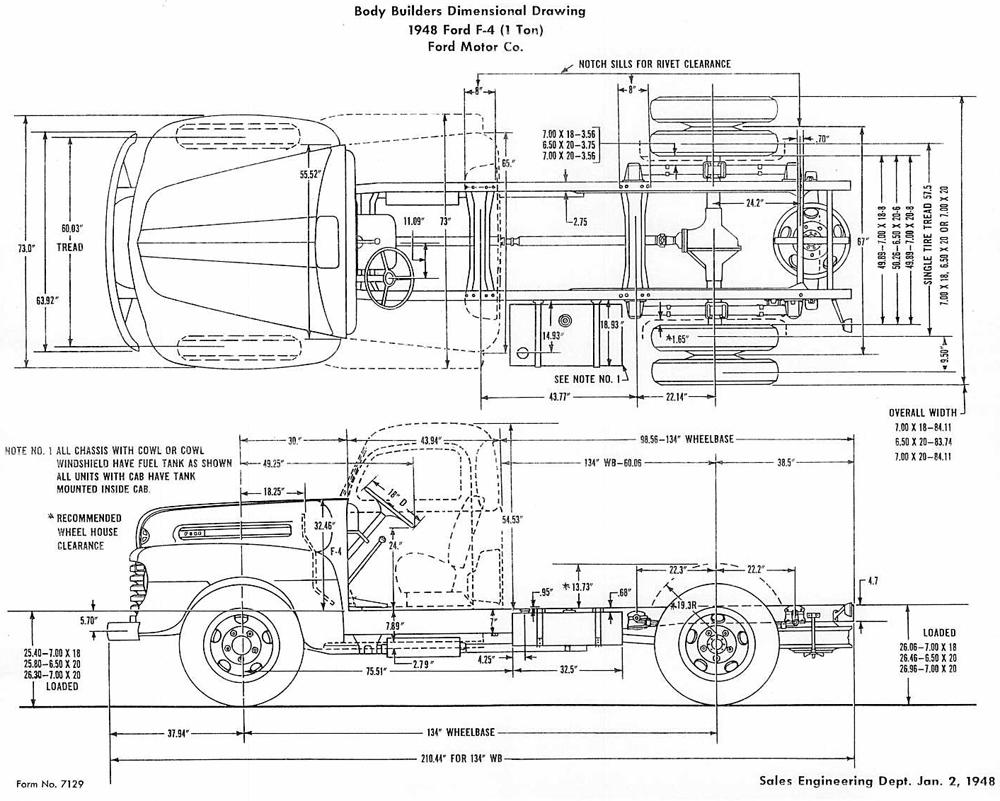 on frod 1953 f100 wiring diagram