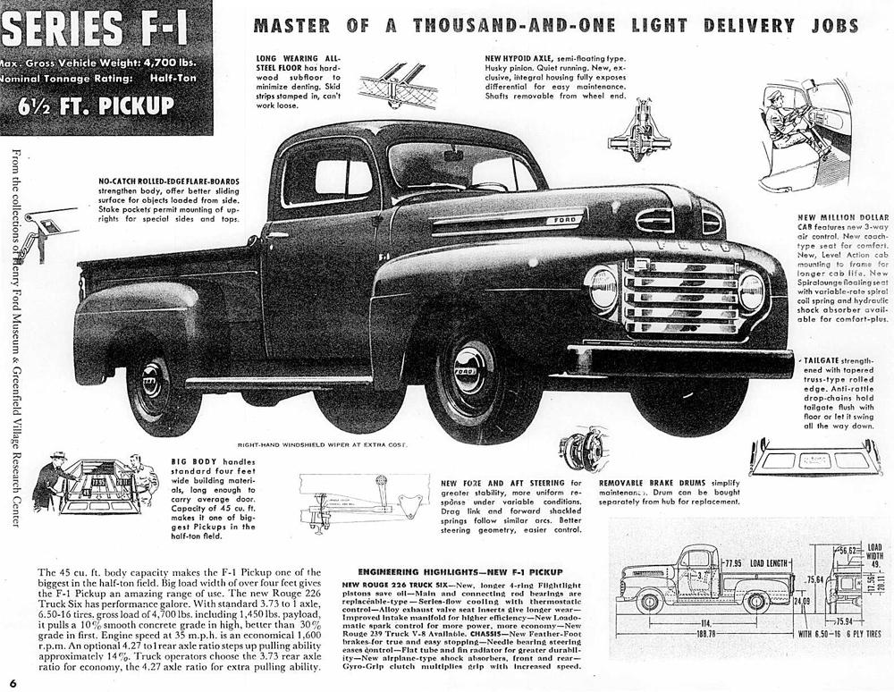 1948 ford f 1 pickup