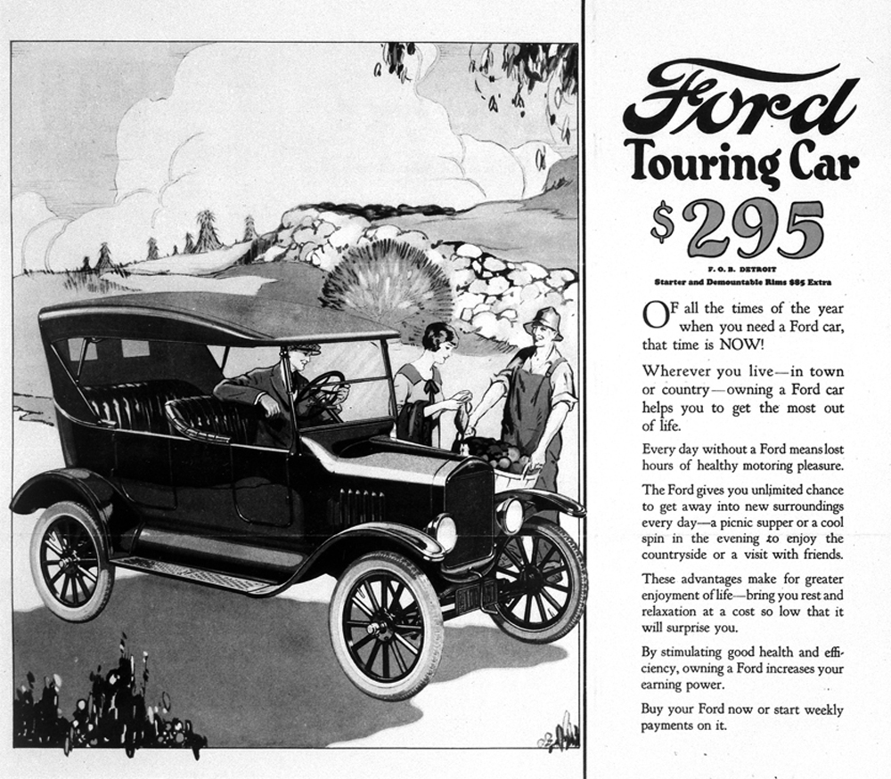 Henry Ford Model t Advertisement Ford Model t Advertisement