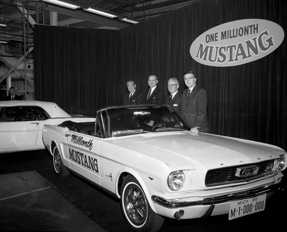 1 Millionth Ford Mustang