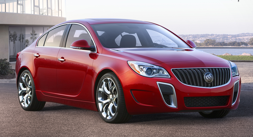 quarter three awd rear automobile magazine regal news buick review gs