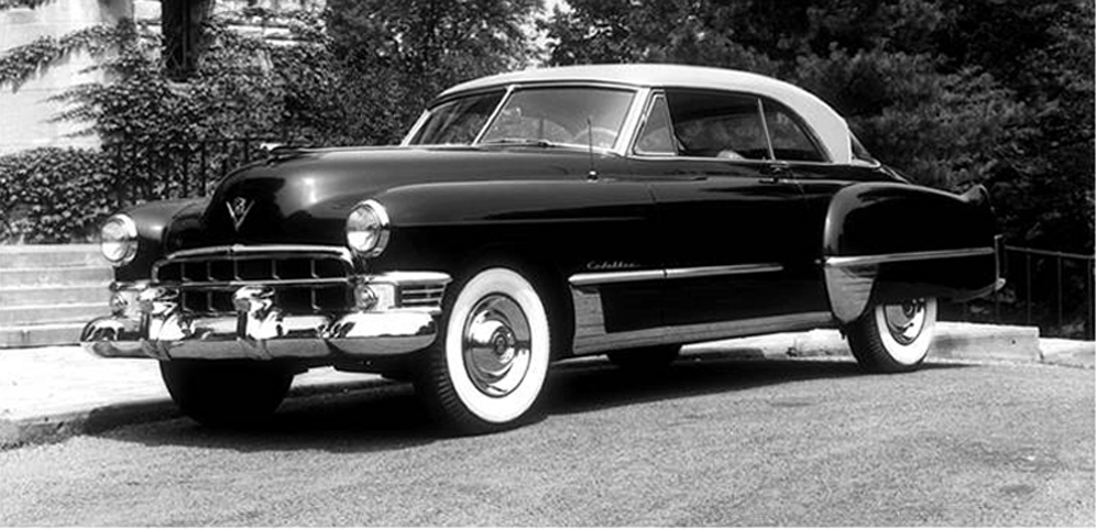 Cadillac Series Coupe De Ville on 1949 Cadillac Engine