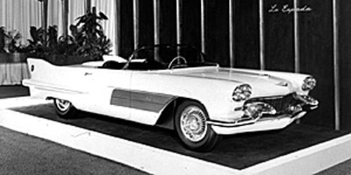 1950's Cadillac Dream Cars and Concepts
