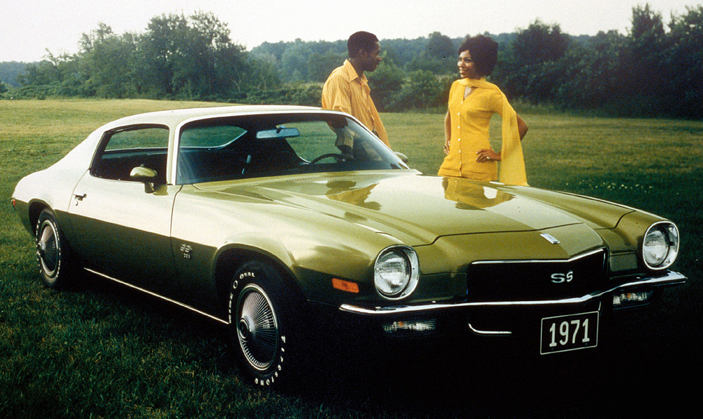 The '70½ was the first Camaro offered with a rear stabilizer bar. The ...