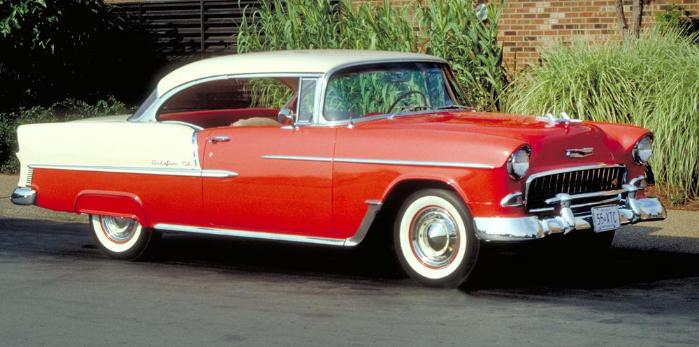 1955 55 Chevy Fuel Door Bumper Belair Hardtop Sedan Wagon Convertible Corvette