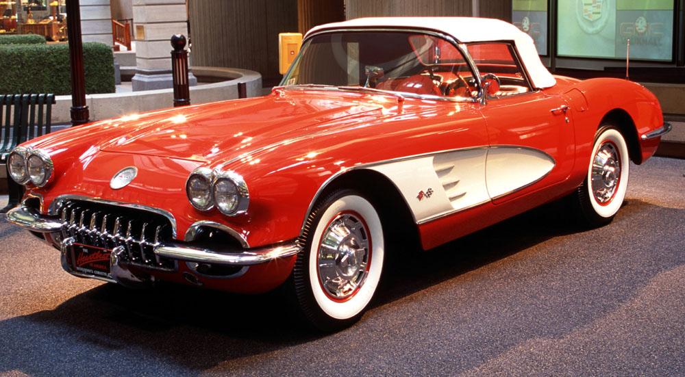 1953 to 1960 corvette