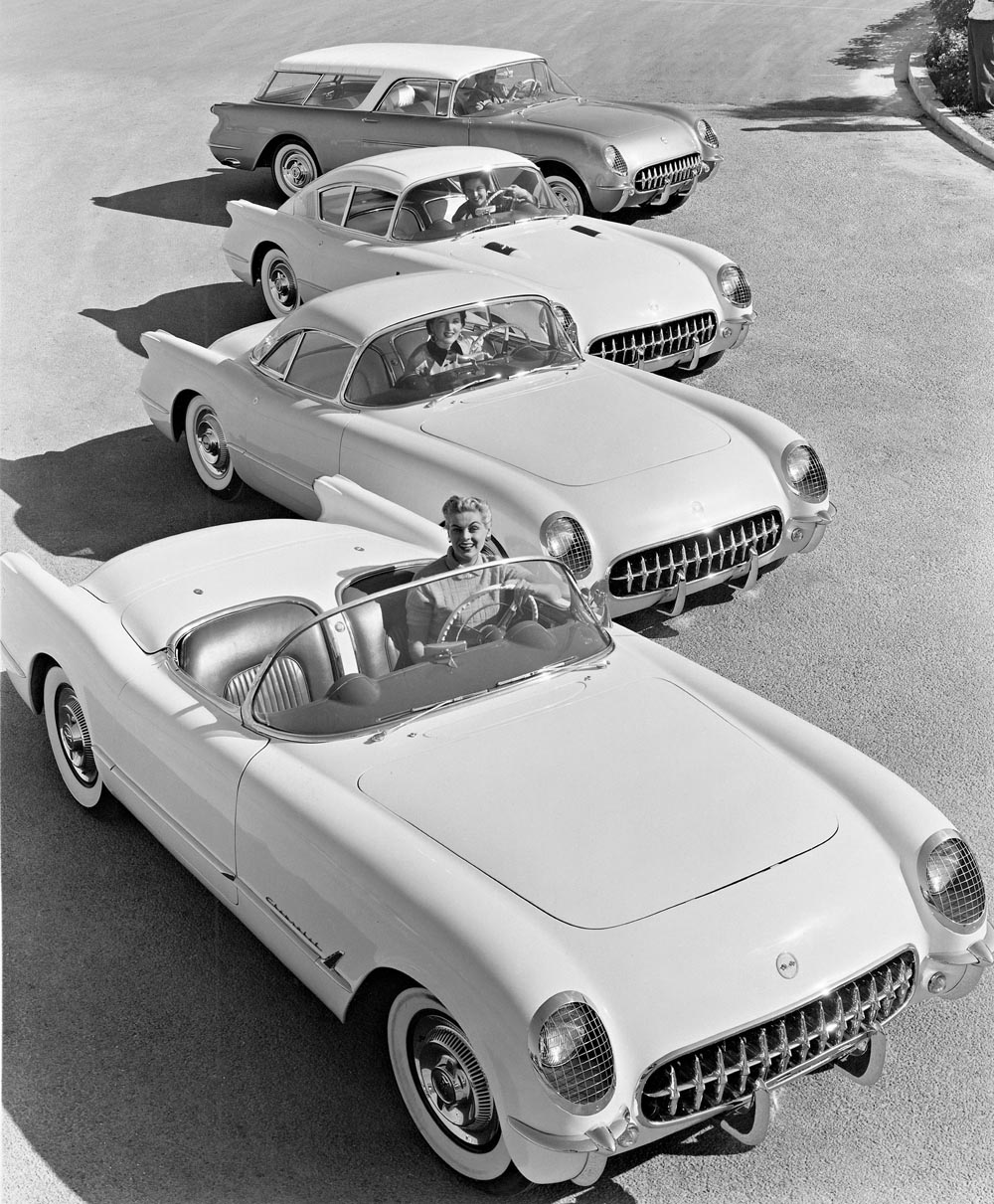 1954 Corvette dream cars - Corvette Corvair fastback, Corvette ...