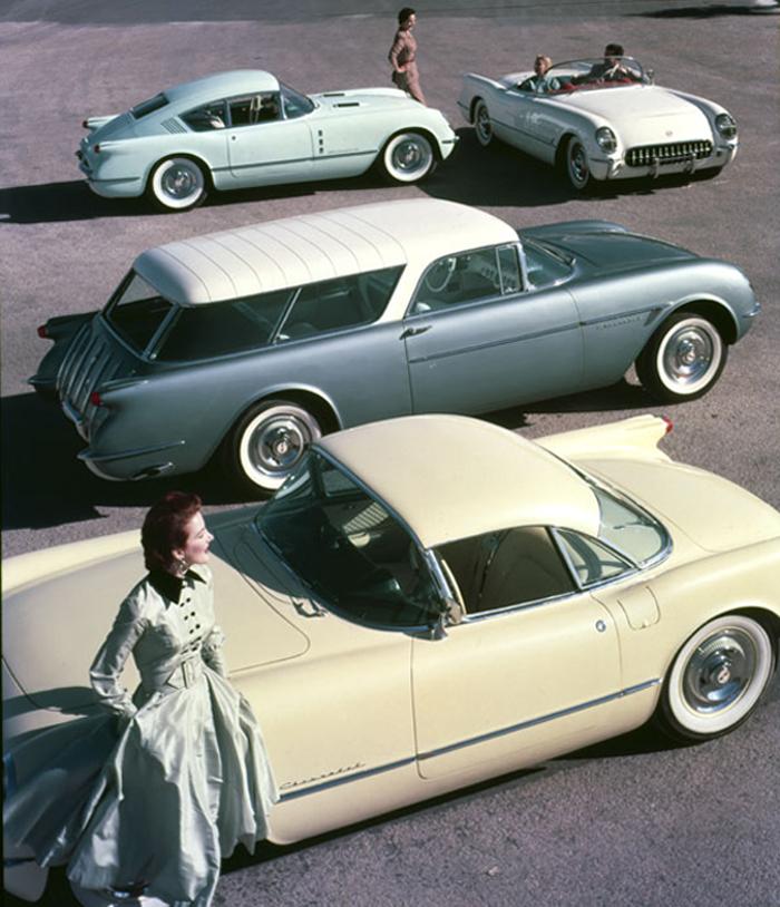 1954 Corvette dream cars - Corvette Corvair fastback ...