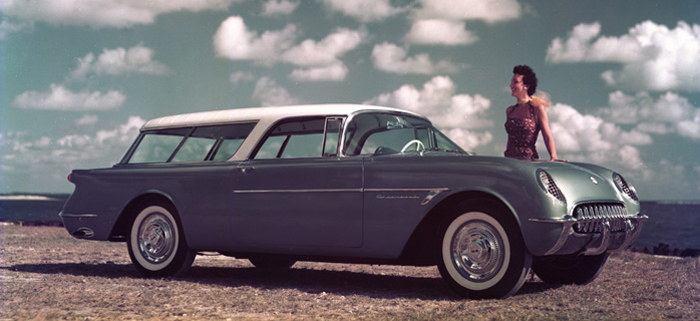 1954 Chevrolet Nomad Concept replica is as close as you'll get to ...