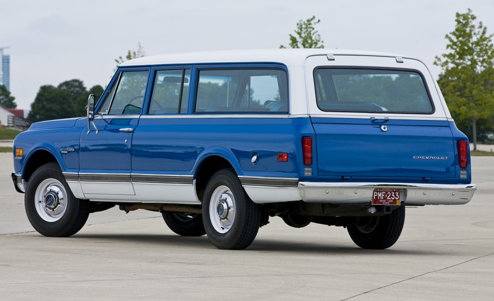 1972 Chevy And Gmc Suburbans With 4 X 4 For Sale Autos Post