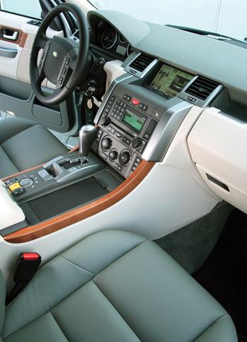 2006 range rover sport for Range rover sport interior lighting