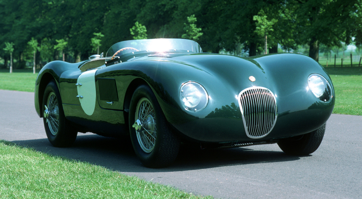1951-53 Jaguar XK120-C-Type