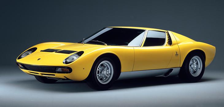 1965 to 1966 Lamborghini Motorcar History