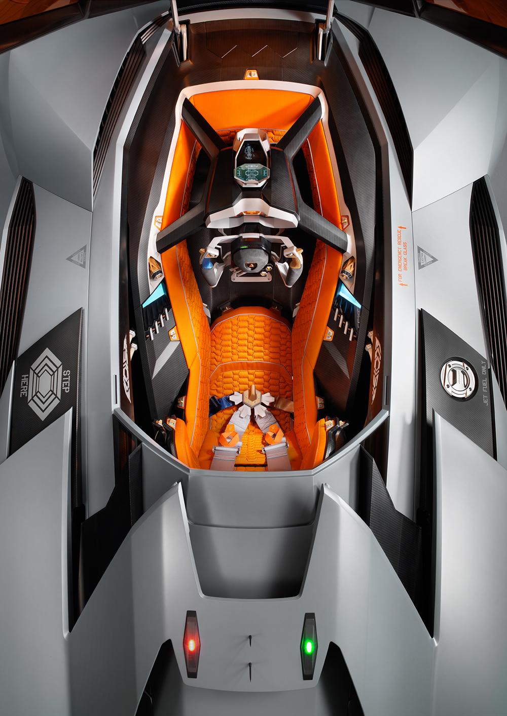 Swivel Car Seat >> 2013 Lamborghini Egoista