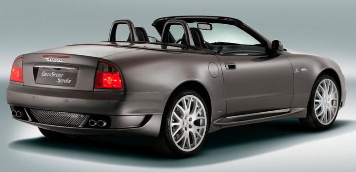 Maserati GranSport Spyder (2005 to 2007)