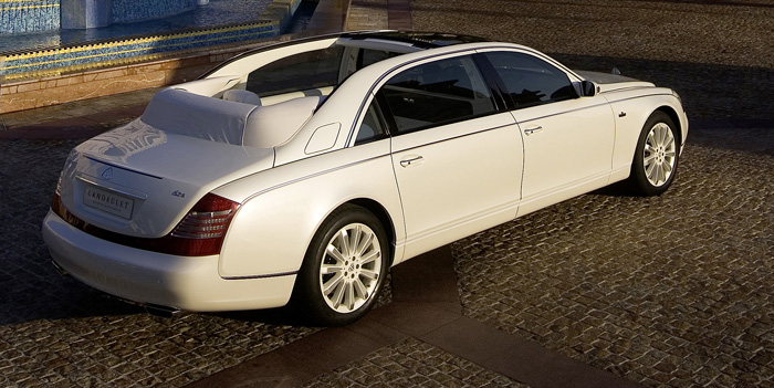 Here you can see new 2016 Maybach 62 S Landaulet Comfort Features